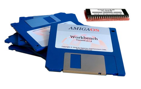 AmigaOS 3.1.4 för Amiga 3000