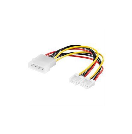 """DELTACO Y-kabel intern för 2st 3,5"""" (DEL-115A)"""