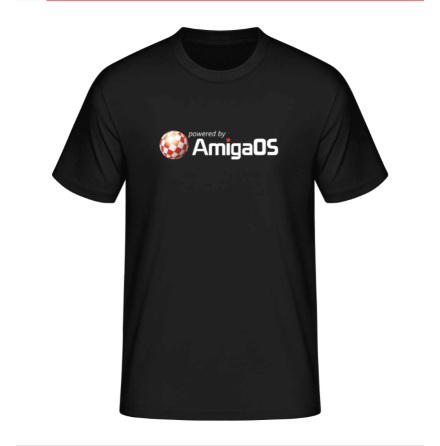 Powered by Amiga T-shirt