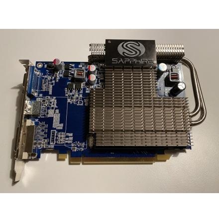 Sapphire Radeon Ultimate HD4650 1 GB 1xDVI 1xHDMI 1xVGA PCIe