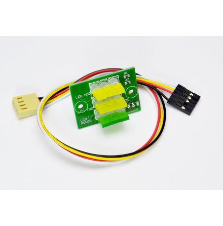 Amiga 1200 front LEDs